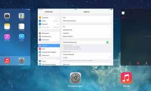 Apple iPad Air Multitasking