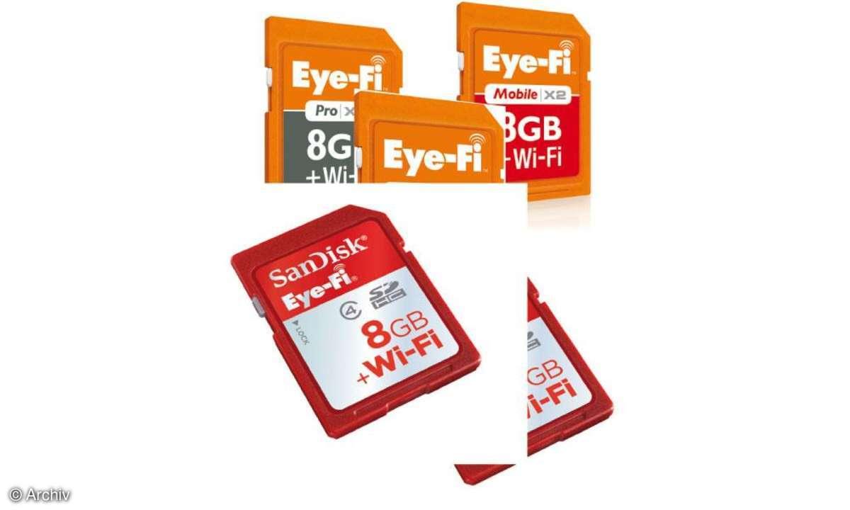 Eye-Fi mit integriertem WLAN