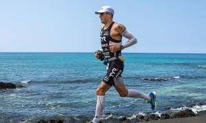 Andy Potts beim Laufen.