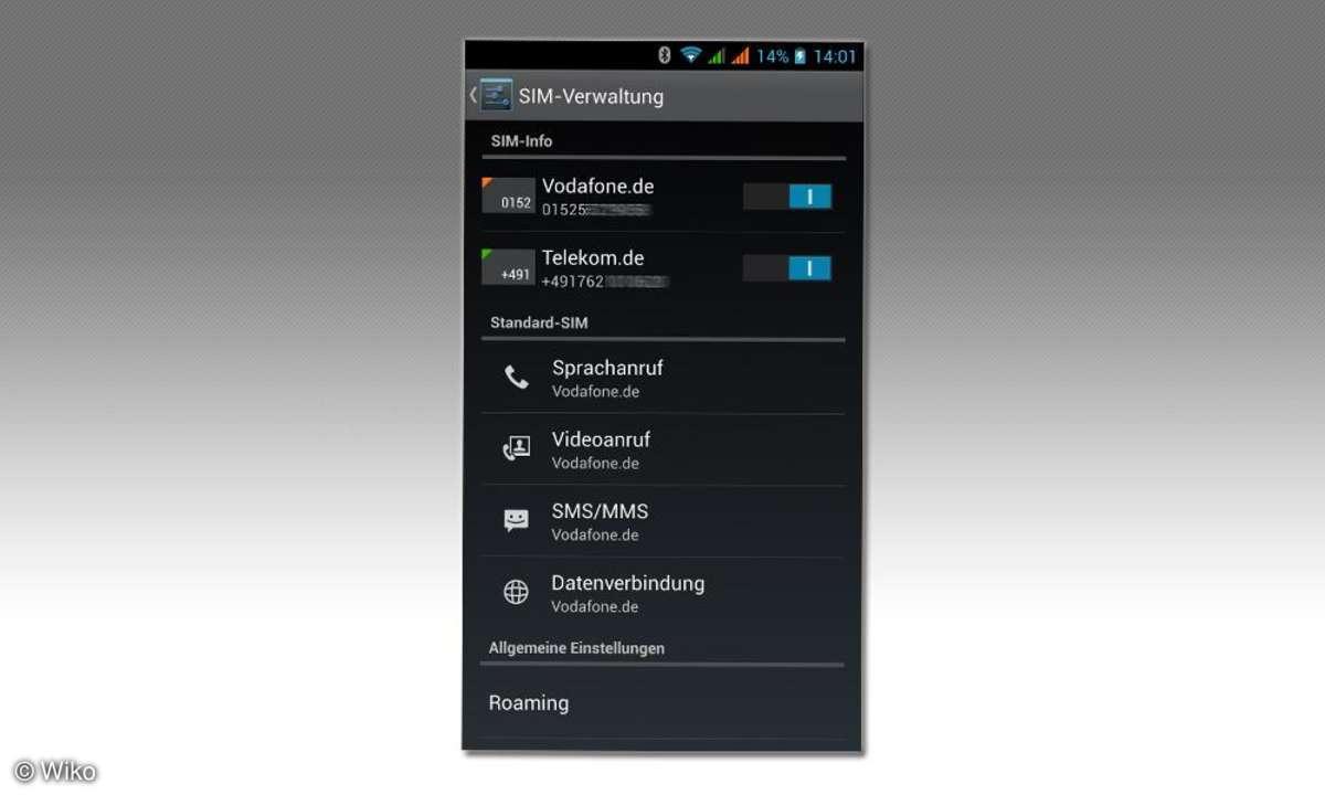 Wiko Highway, Dual-SIM-Smartphone