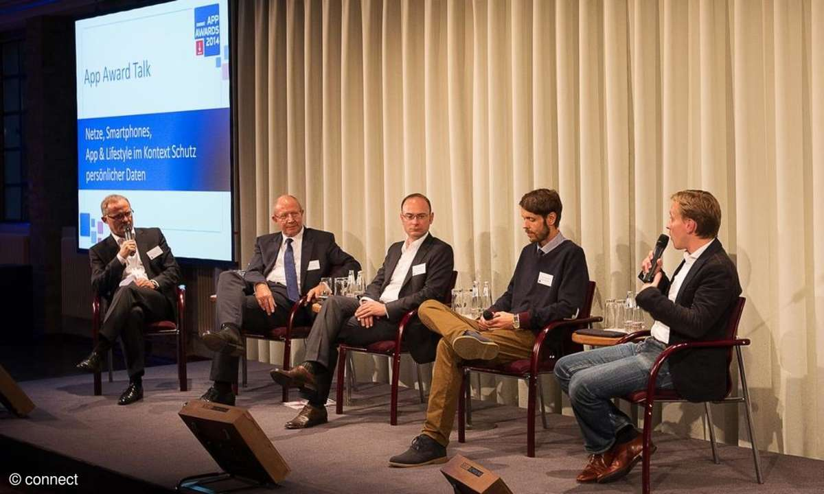 connect App Awards 2014: App Award Talk zum Thema Datenschutz