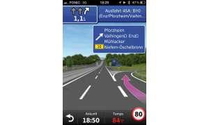 Garmin Westeuropa-App