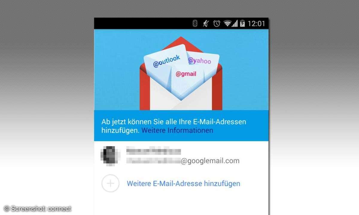 Gmail 5.0 für Android