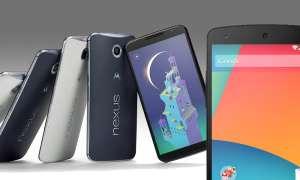 Nexus 6 und Nexus 5