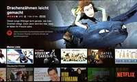 Netflix auf dem TV-Gerät