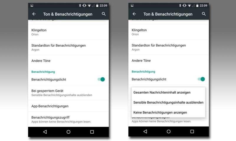 Android: Empfangs- statt Lesebestätigung für SMS aktivieren