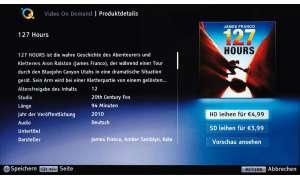 Video on Demand überlässt Sony nicht nur anderen Anbietern, sondern stellt über seine Qriocity-Plattform eigene Filme bereit, die Preise liegen wie üblich bei vier bis 5 Euro.