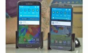 Samsung S5 und S4 mit Lolliop