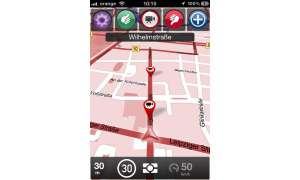 Skobbler GPS Navigation 2, iPhone App