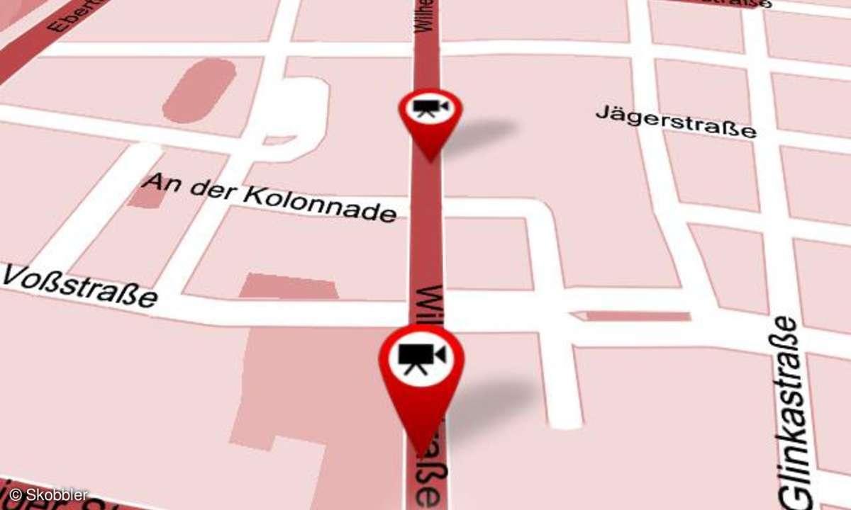 Skobbler GPS Navigation 2, iPhone App