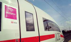 Deutsche Bahn Mobilfunk Hotspot