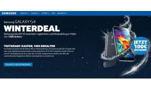 Samsung Galaxys S5 Winterdeal