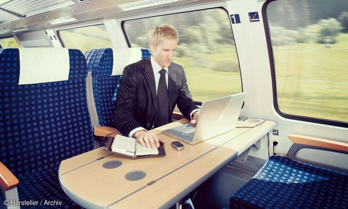 Büroarbeit Deutsche Bahn