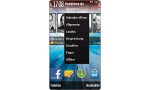 Nokia X6 Schnellzugriffe