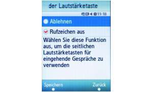 Screenshots Samsung SGH-F480