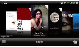 HTC Evo 3D E-Book-Reader