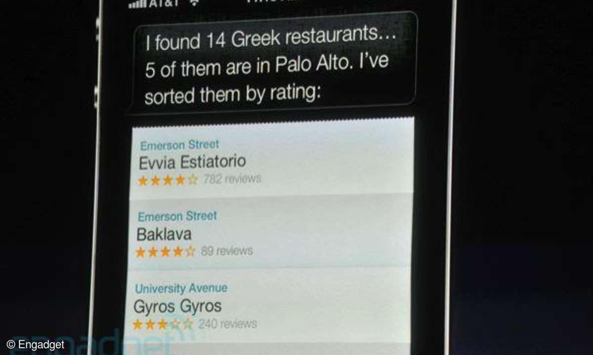 Siri, Sprachsteuerung