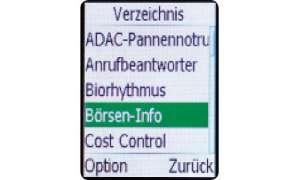 Doro Easy Phone 410gsm Verzeichnis