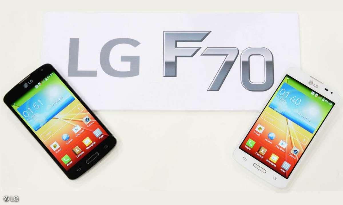 LG F70 auf dem MWC 2014