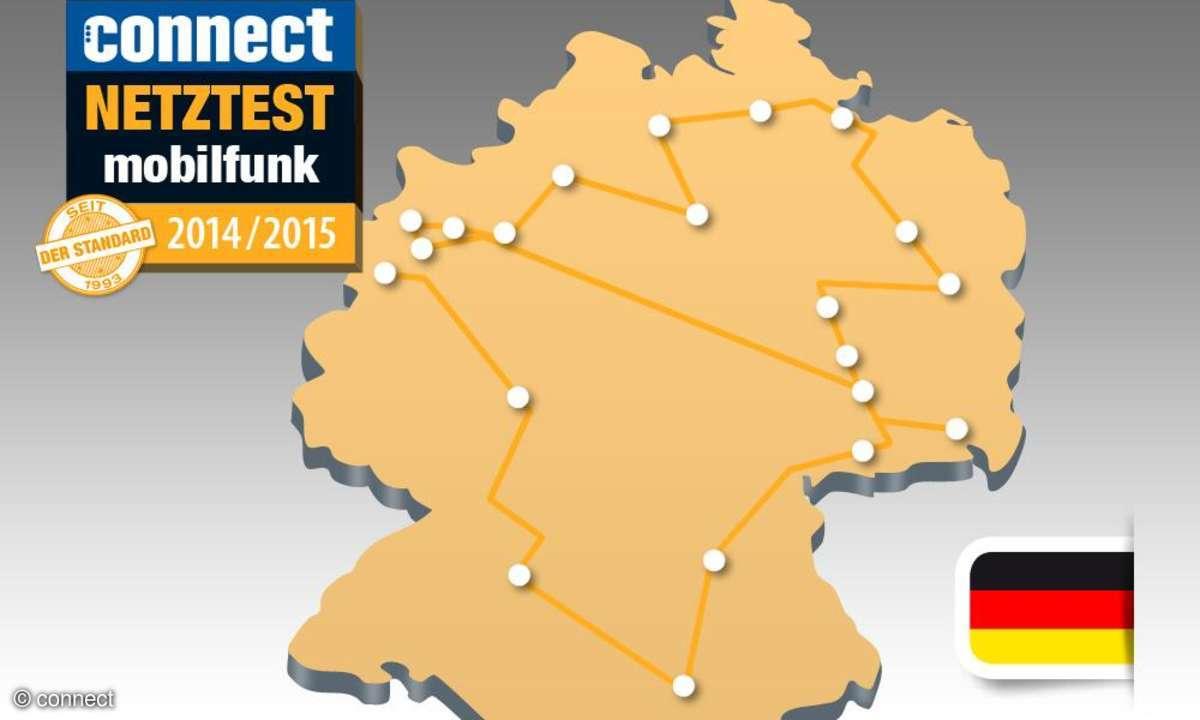 connect-Netztest 2014 Deutschland