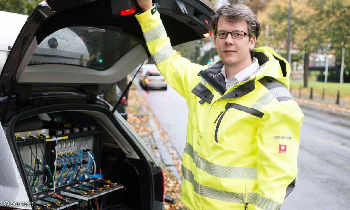 Netztest 2014: Testfahrzeug
