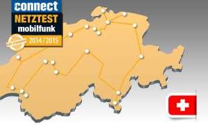 connect-Netztest 2014 Schweiz