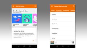 Google Play Musik Wiedergabelisten