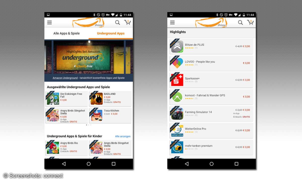 Amazon Underground: Screenshots