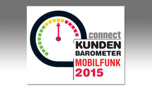connect Kundenbarometer Mobilfunk 2015