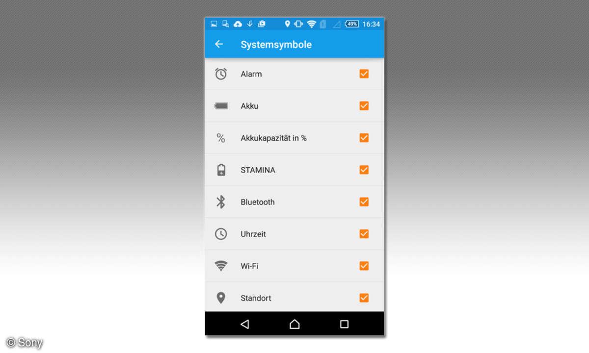 Sony xperia m4 screenshot