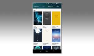 Huawei p8 lite screenshot
