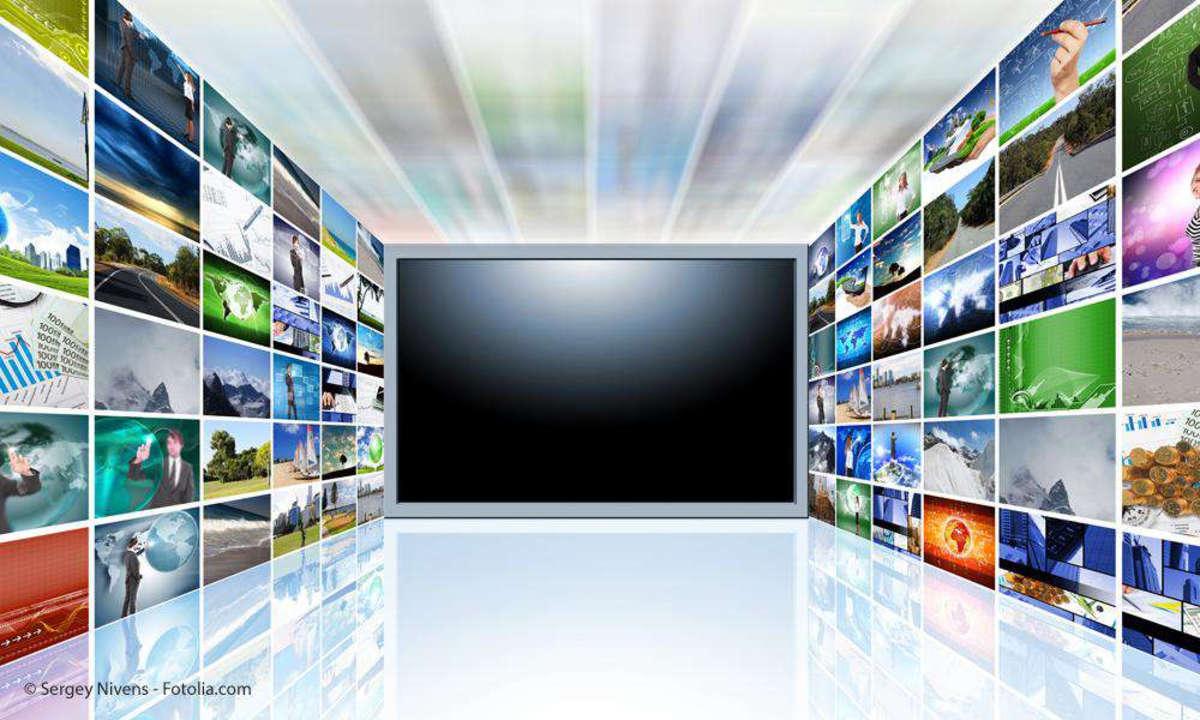 Fernseher, Streaming, IPTV