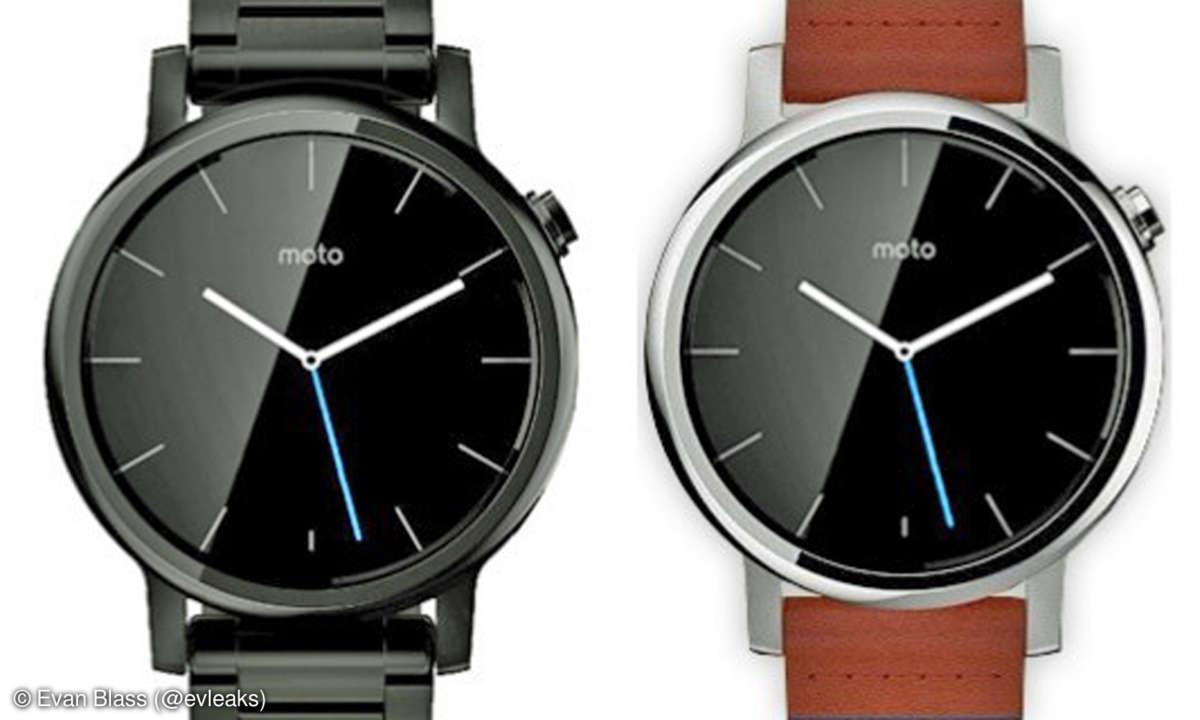 Motorola Moto 360L und Moto 360S