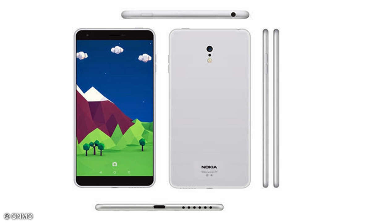 Nokia C1 - Renderbild eines Fans