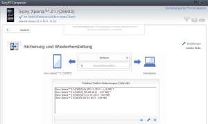 Screen PC Companion Backup