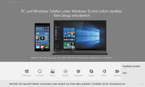 Windows Phone Desktop Anwendung