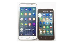 Samsung Z1 und Samsung Z3