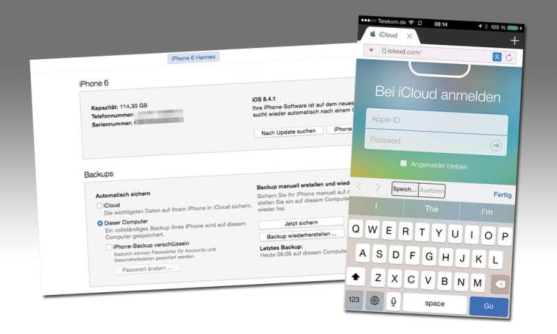 Datensicherung Iphone Ohne Itunes