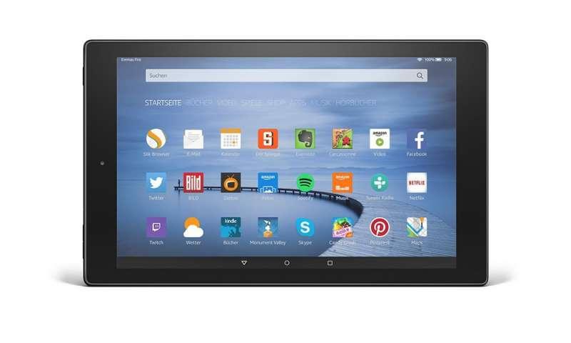 amazon tablet test fire hd 10 und fire hd 8 im vergleich connect. Black Bedroom Furniture Sets. Home Design Ideas