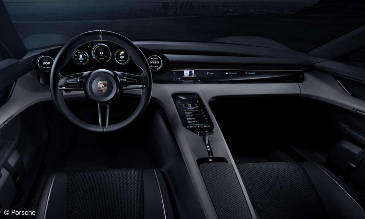Porsche Mission E - Cockpit