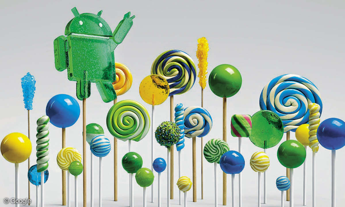 Android Lolipop Forest