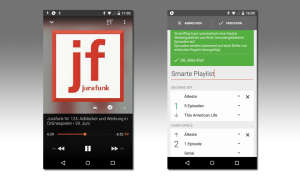 Beyondpod Podcast Player für Android