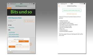 Screenshots: Overcast-App