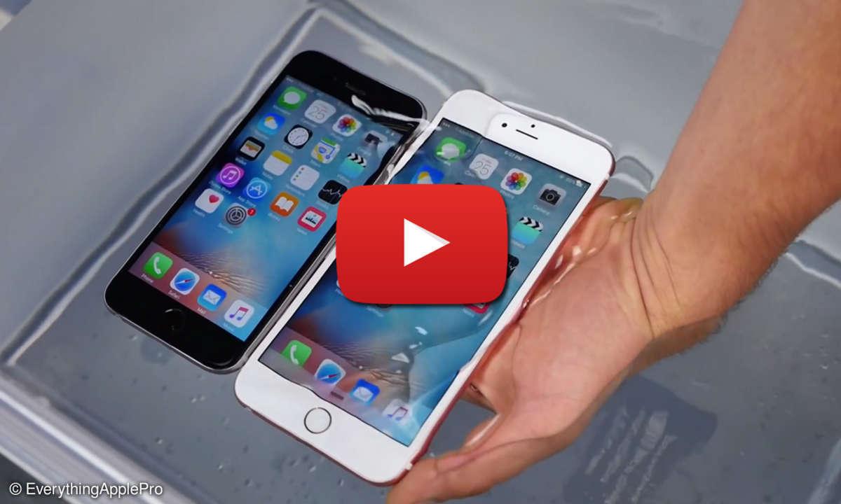 iPhone-Wassertest