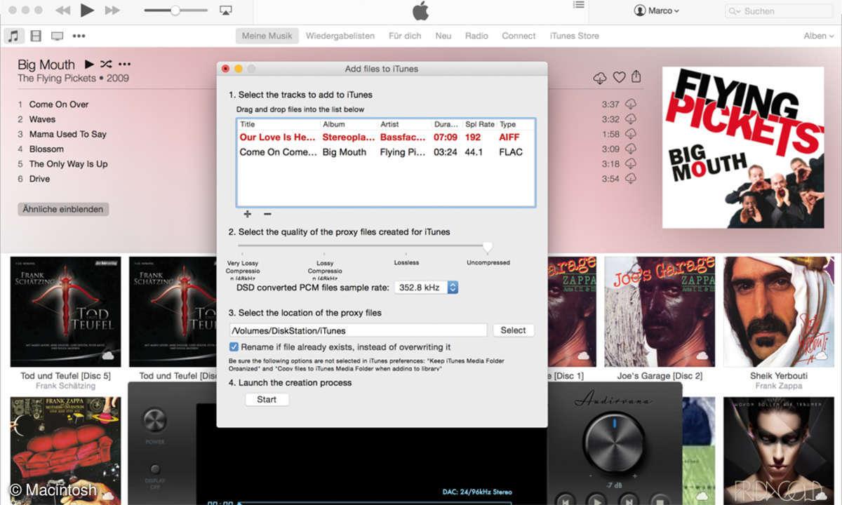 iTunes Audirvana