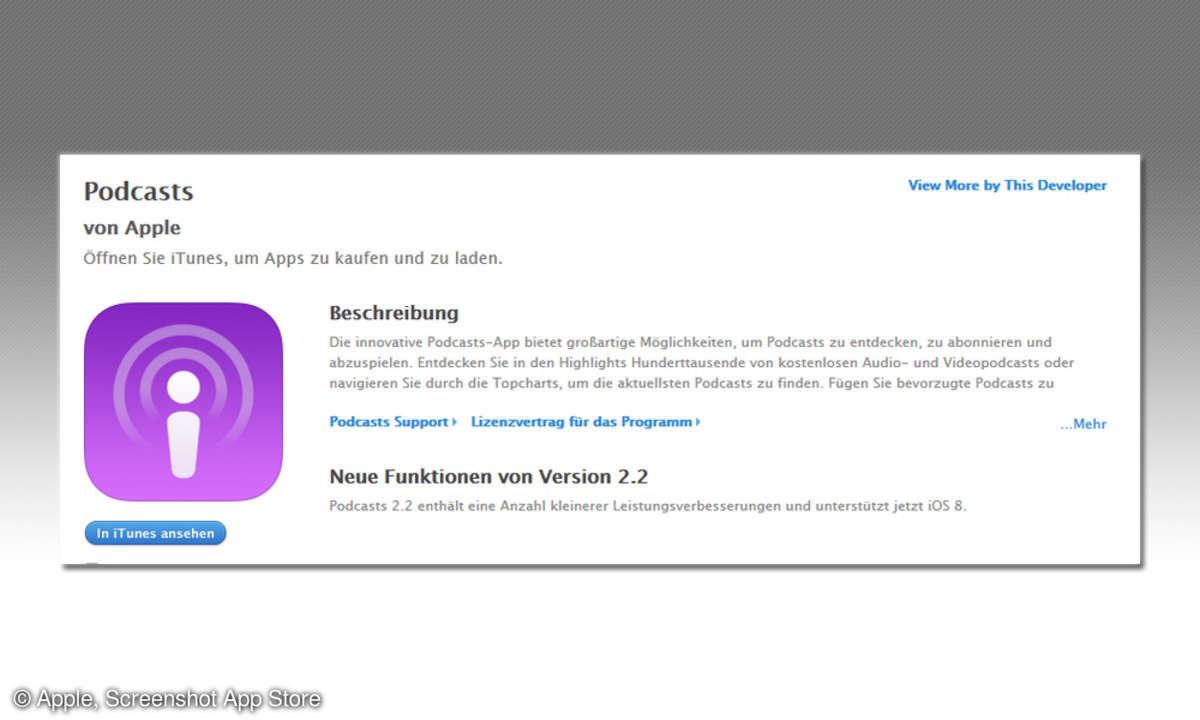Apple Podcast-App
