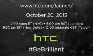 HTC Launch Event