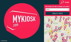 So finden Sie einen Kiosk in Ihrer Nähe, der Ihr Lieblings-Magazin führt!