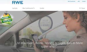 RWE: Heizung später anschalten