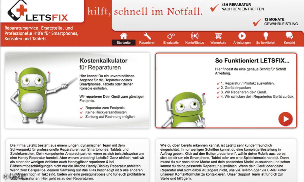 Letsfix online